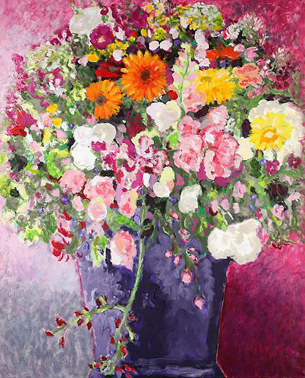Wildflowers with Calendula | 130 x 160 cm | oil on canvas